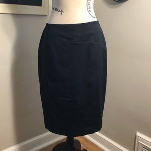 The Limited Black Sculpted Pencil Skirt